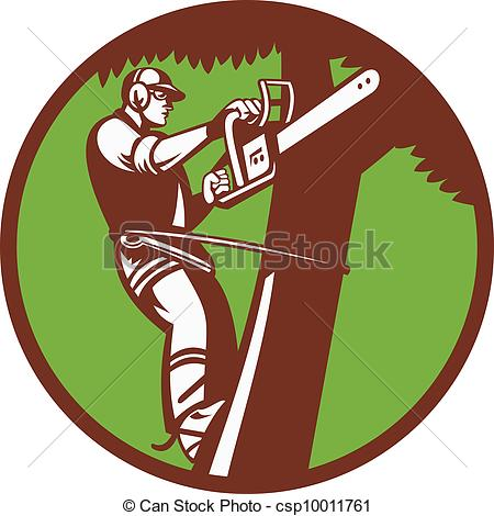 Tree service clipart 2 » Clipart Station.