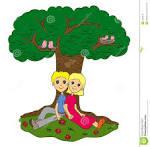 tree shade clipart #12
