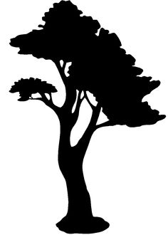 silhouette art.