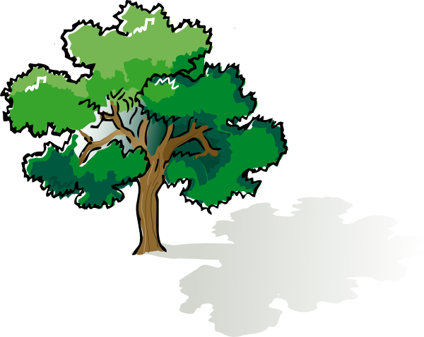 Tree Shadow Clip Art.