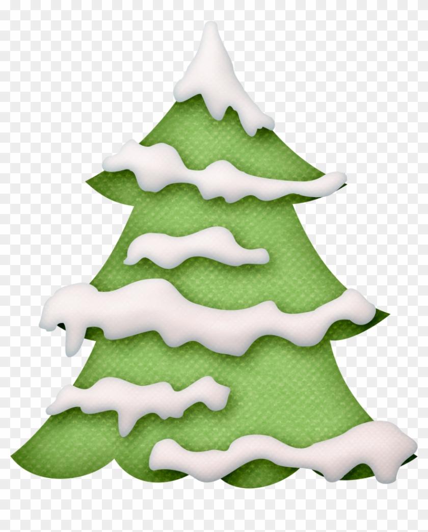 Фотки Christmas Tree Drawing, Christmas Tree With Snow.