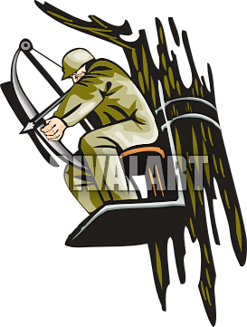 Hunting And Fishing Border Clipart.