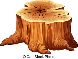 cut down tree trunk clipart - Clipground
