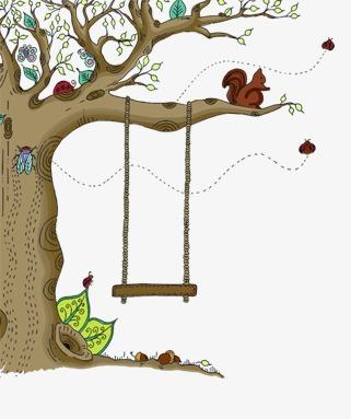 Art Tree Swing, Art Clipart, Tree Clipar #336640.