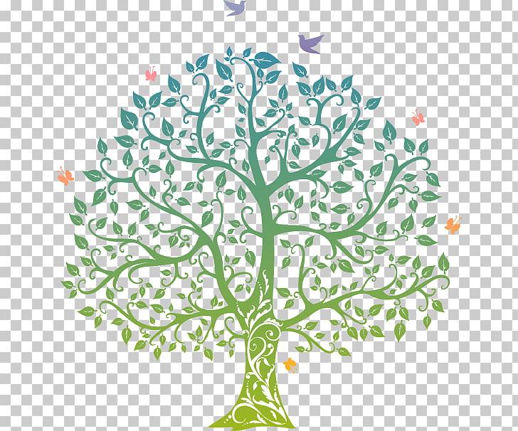Tree of life Symbol, Impression tree, green tree PNG clipart.
