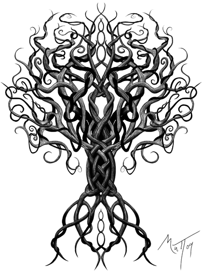 Tree Celtic Tattoos Png Transparent PNG #17492.