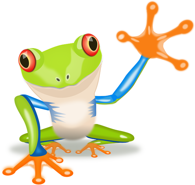 Free pictures TREE FROG.