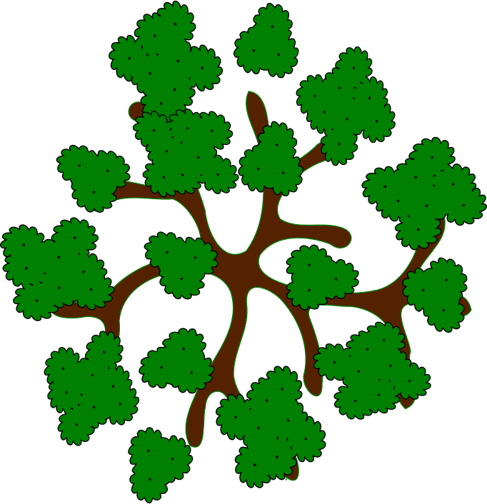 Treetop Clipart.