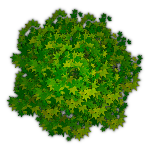 Photoshop Tree Top View Png #4129.