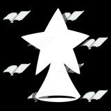 A Beka Book :: Clip Art :: Star Tree Topper.