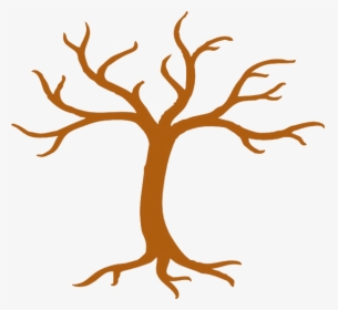Transparent Tree Without Leaves Clipart.