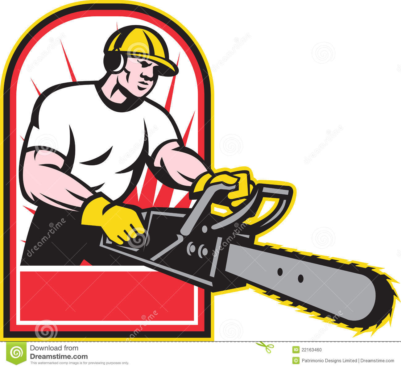 Tree Trimming Service Clip Art.