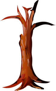 Tree trunk clip art.