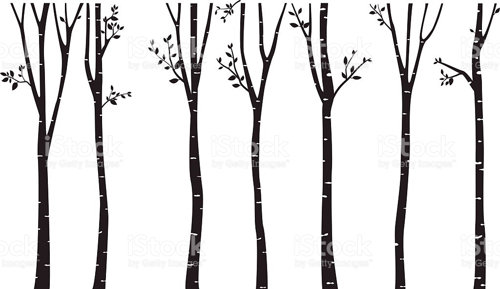 Tree Trunk Clipart Aspen Clipground