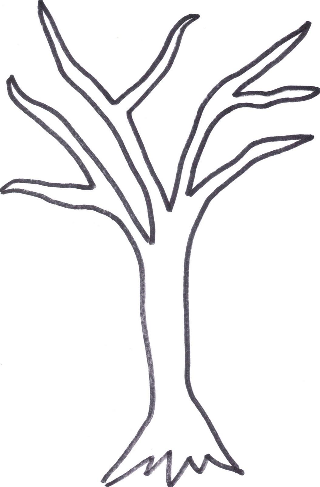 printable tree trunk.