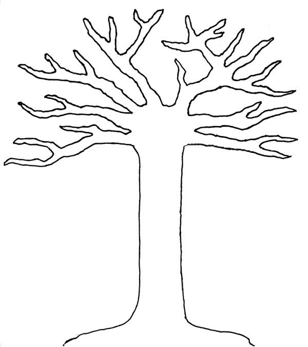 Punchy image pertaining to free printable tree template