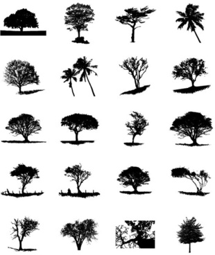 Tree trunk vector free vector download (5,466 Free vector.