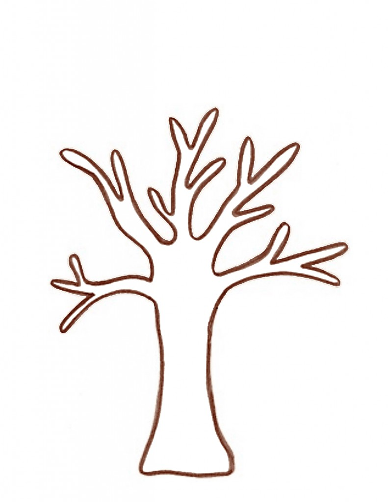 Tree Trunk And Branches Clip Art.