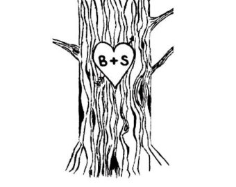 657 Tree Trunk free clipart.