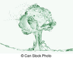 Naked woman under water tree Clipart and Stock Illustrations. 1.