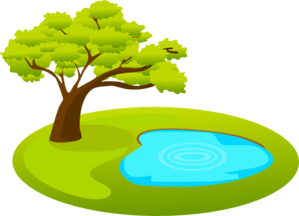 Pond Water Clipart.