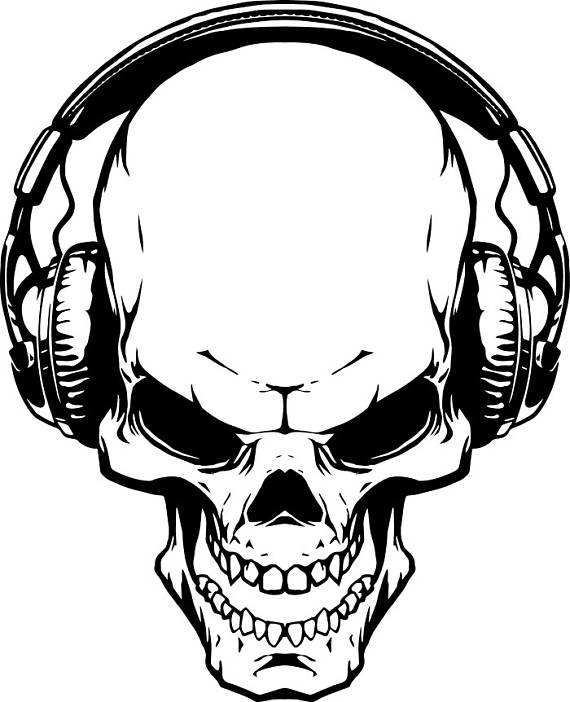 5670 Skeleton free clipart.
