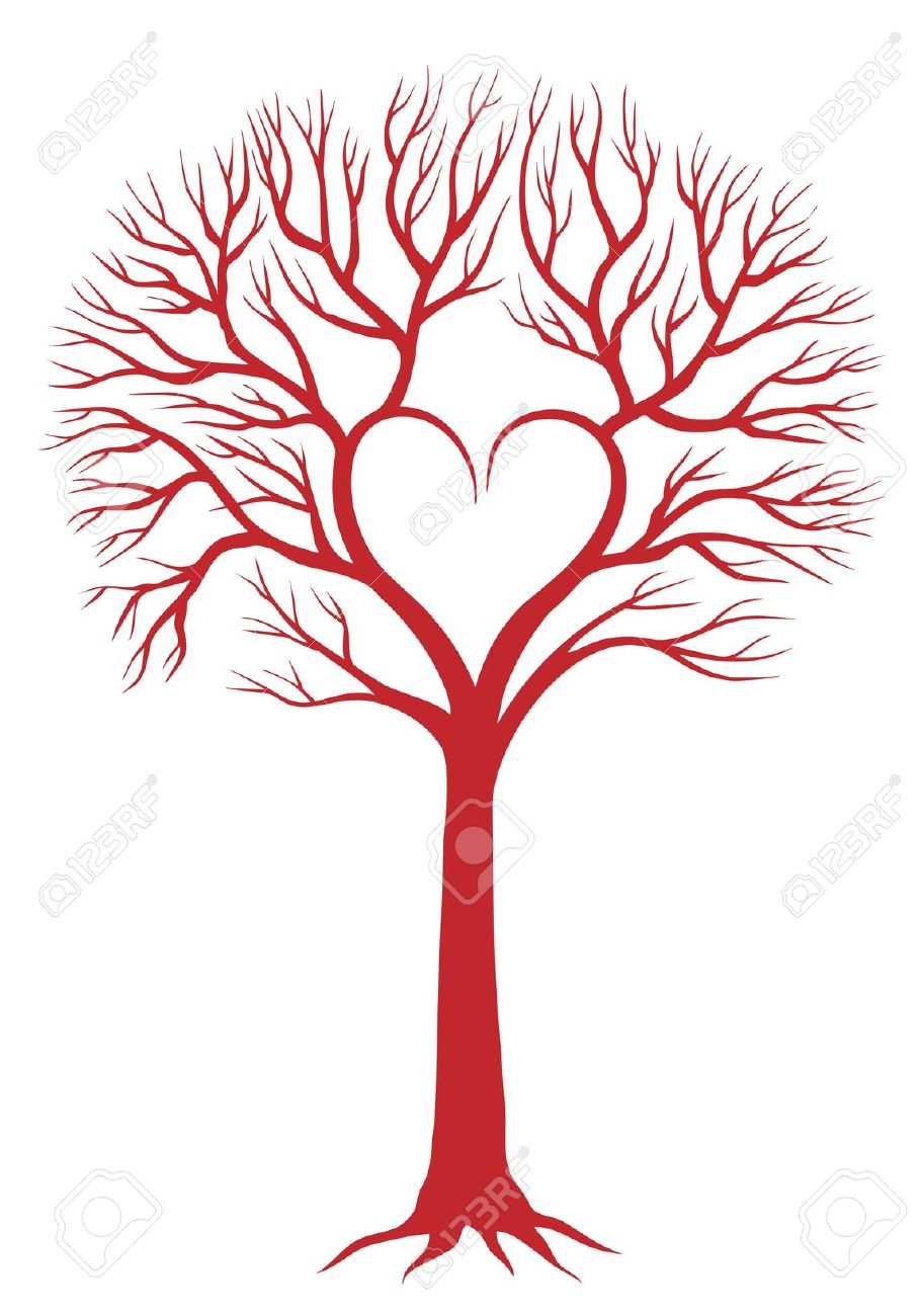 20,256 Heart Tree Stock Illustrations, Cliparts And Royalty Free.
