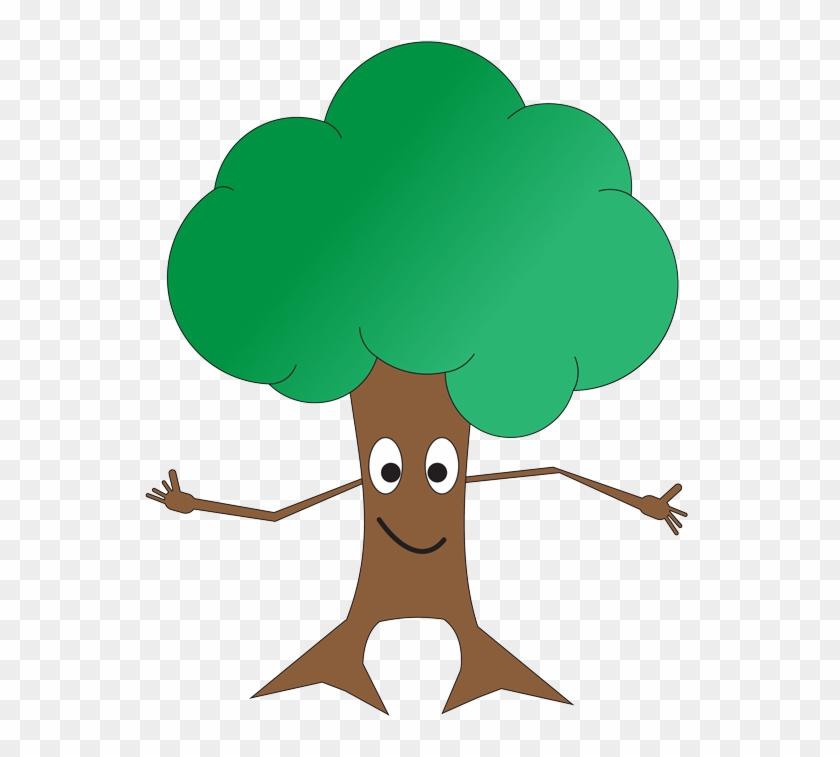 Shrub Bushes Clipart Tall Tree.