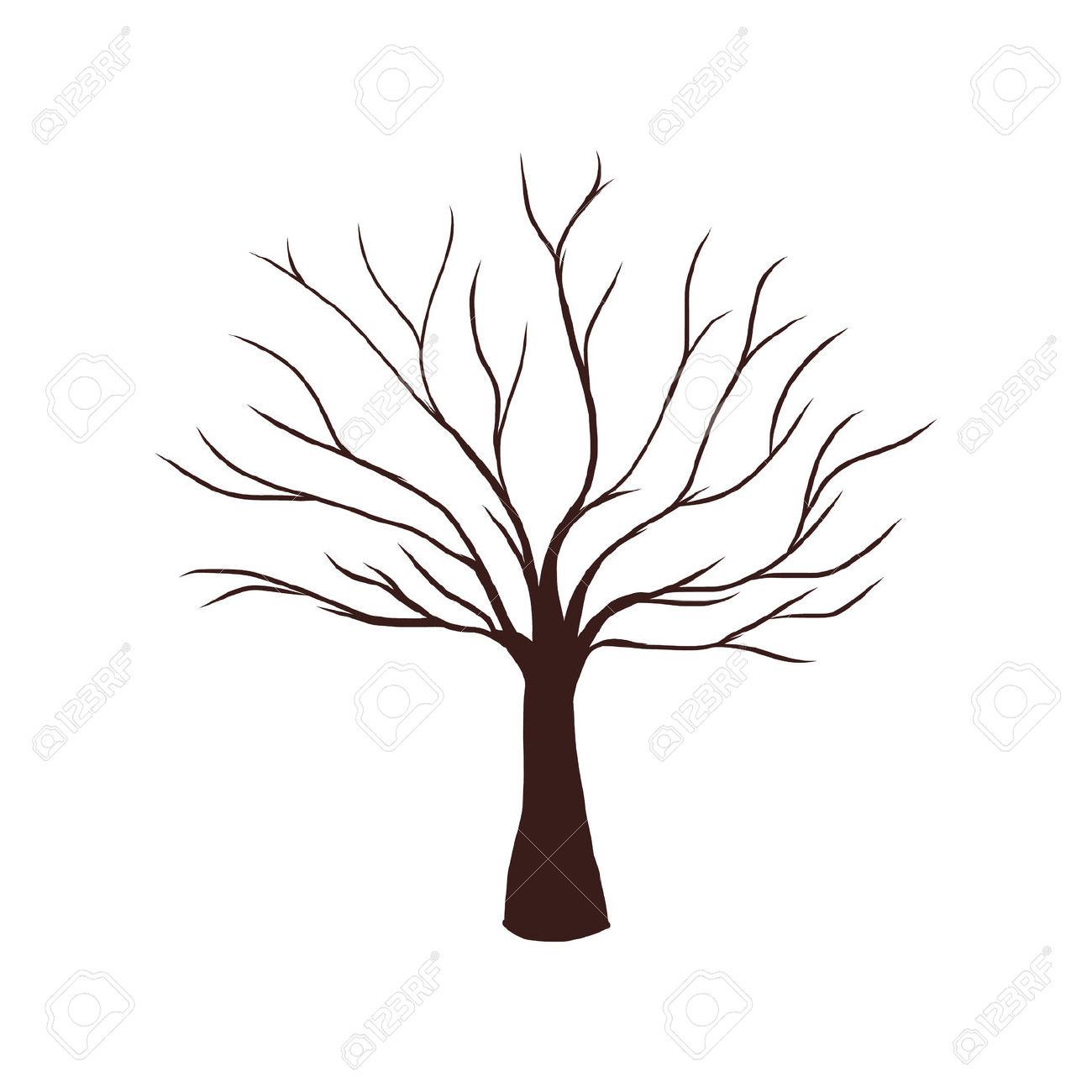 Tree With No Leaves Clipart Clipground