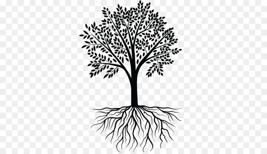 Free Transparent Tree With Roots Clipart, Download Free Clip.