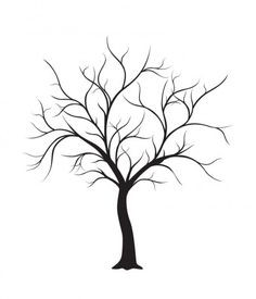 Tree No Leaves Drawing.
