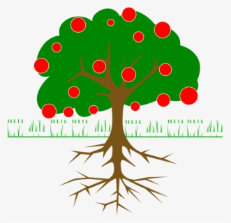 Free Fruit Tree Clip Art with No Background.