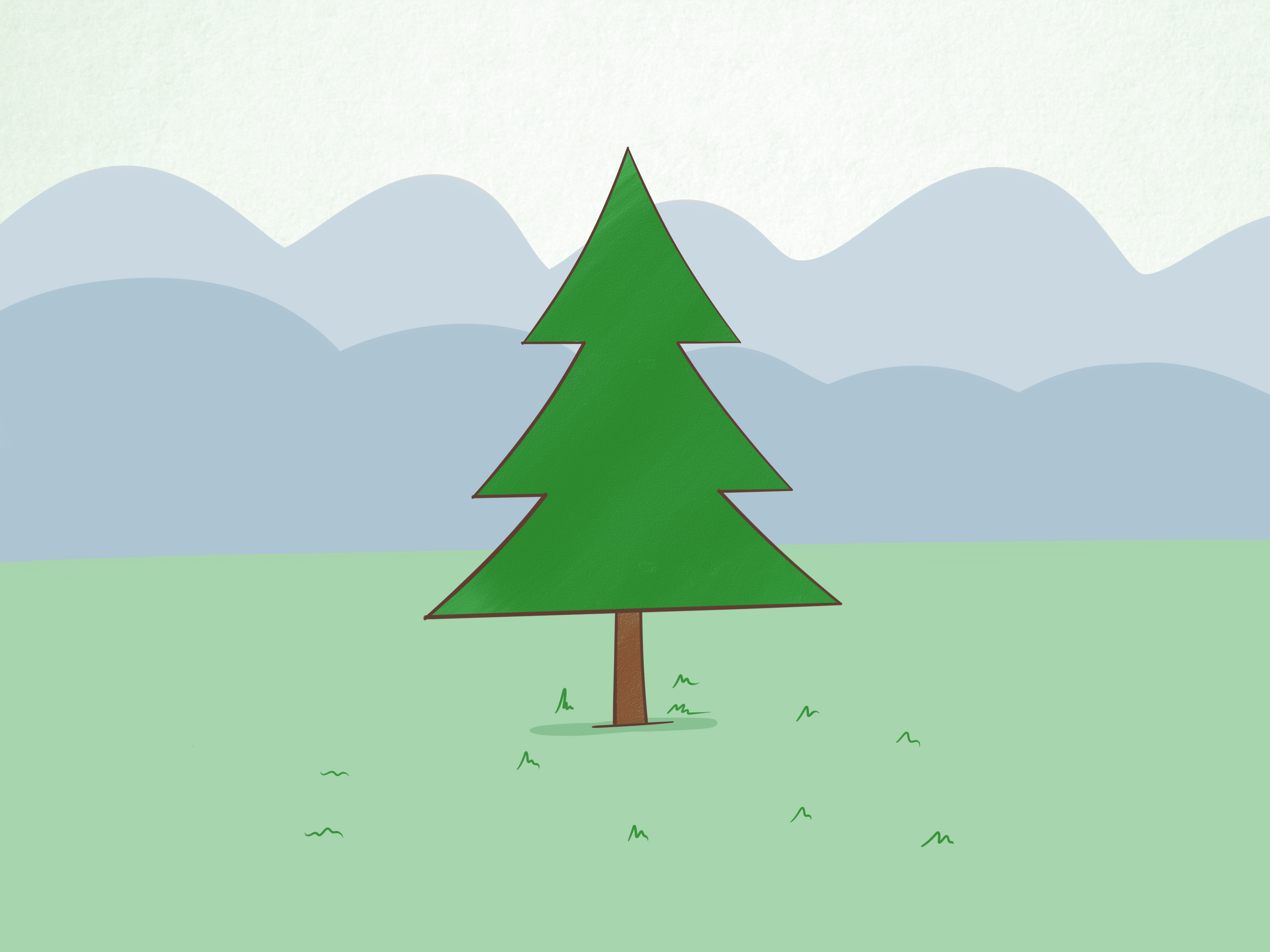 How to Draw a Simple Tree: 9 Steps (with Pictures).