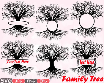 Family tree Split / Circle frame clipart Deep Roots Family Is Love T shirt.