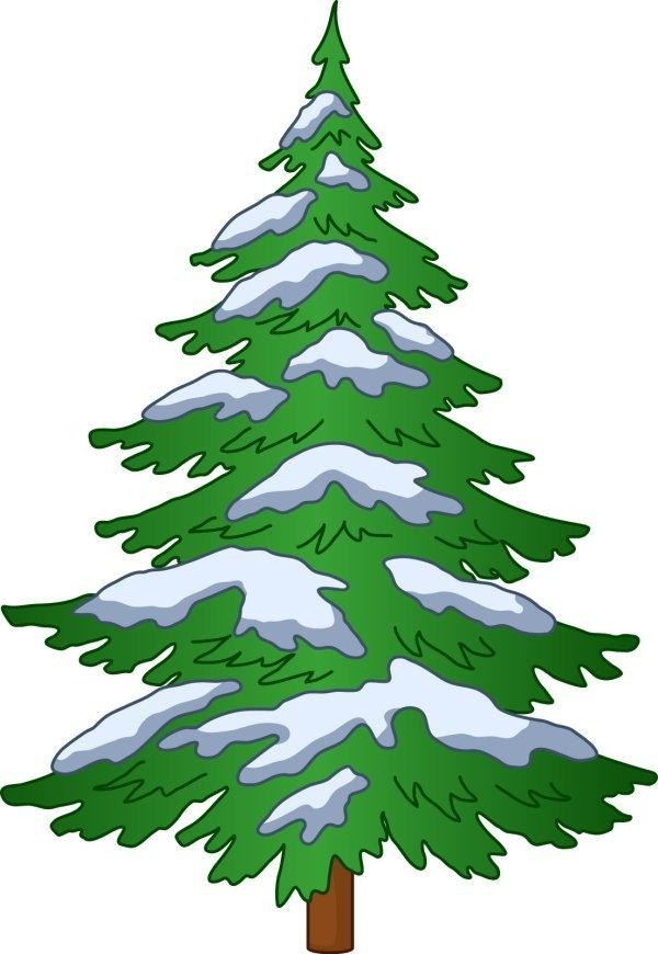 Pine Tree Clipart Vector.