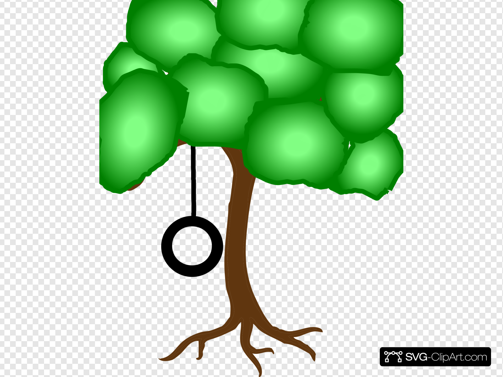Tire Swing Clip art, Icon and SVG.