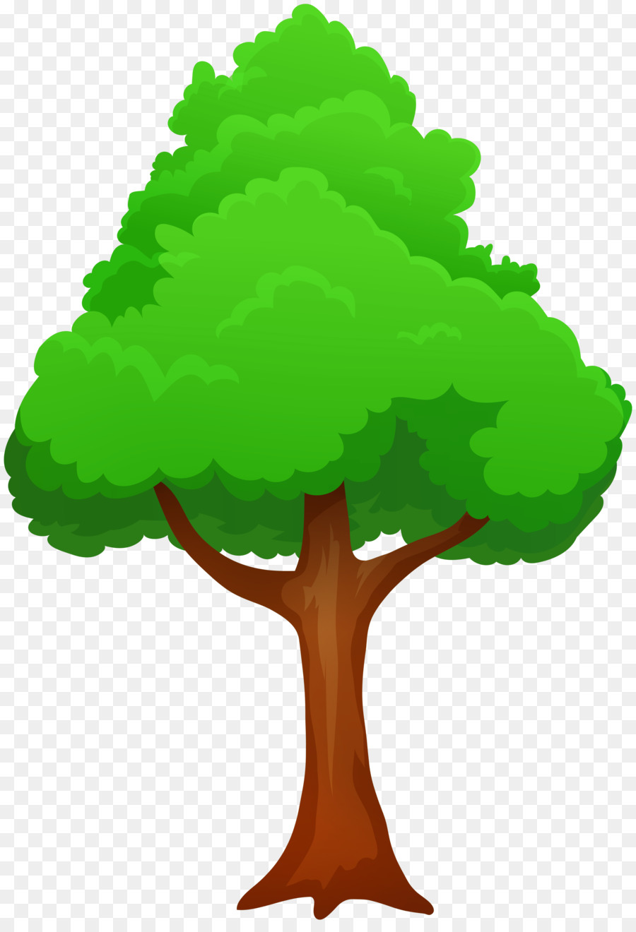 Free Cartoon Tree Transparent Background, Download Free Clip.