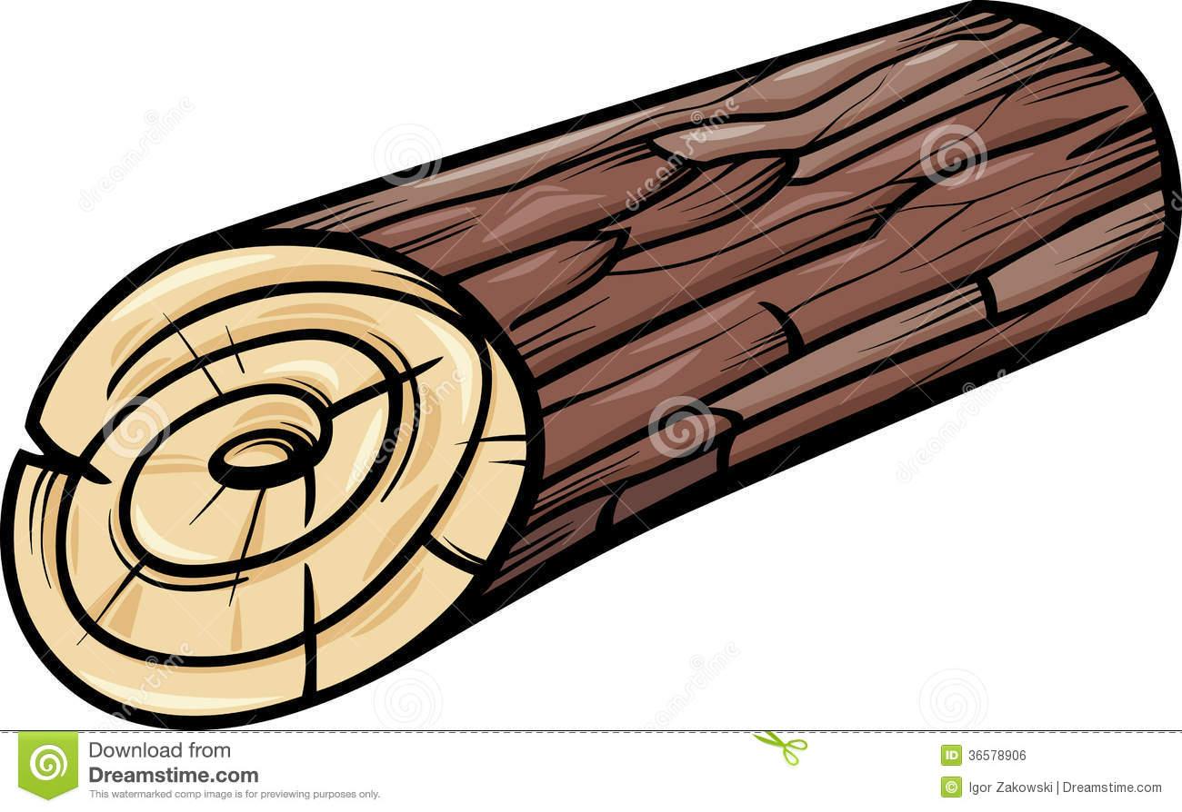 Wood tree clipart.