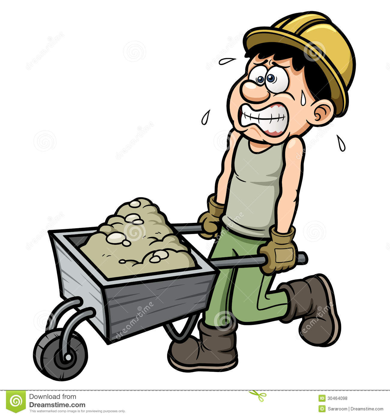 Showing post & media for Landscaping worker cartoon.