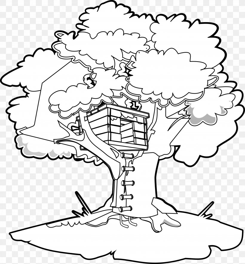 Magic Tree House Coloring Book Clip Art, PNG, 5555x5982px.