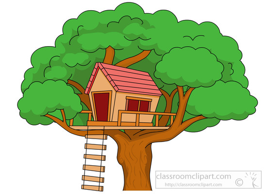 53+ Treehouse Clipart.