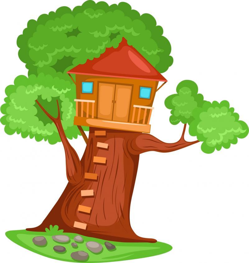 29+ Tree House Clip Art.