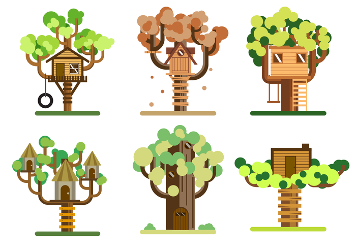 Free Treehouse Vector.
