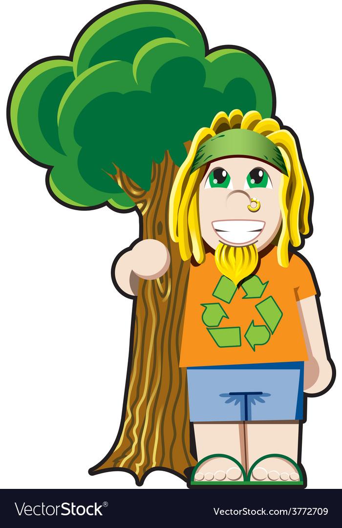 Tree Hugger avatar.