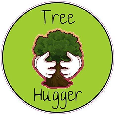 Amazon.com: U.S. Custom Stickers Tree Hugger Sticker, 5.