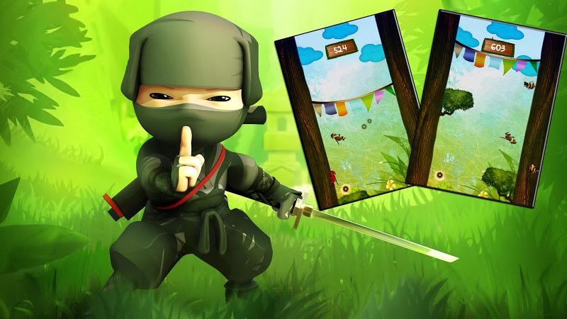 Tree Run Ninja Run.