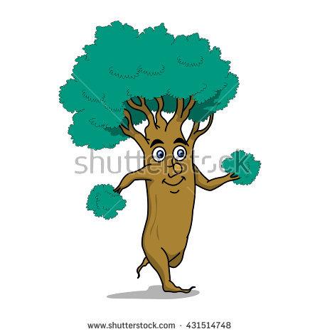 Tree Run Stock Vector Illustration 431514748 : Shutterstock.