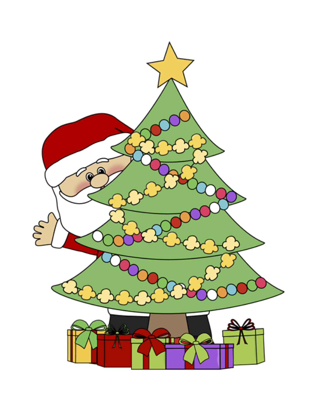Winter Solstice Christmas Tree Run.