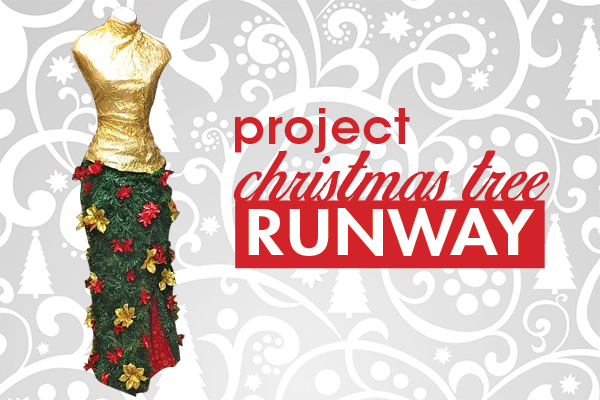Project Christmas Tree Runway in Dublin.