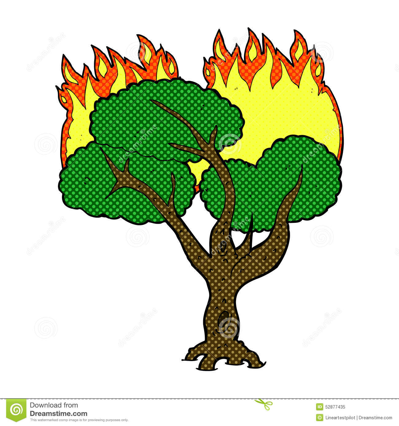Showing post & media for Cartoon burning trees.